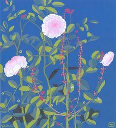 Rosa Alba.  Even more beautiful in person -- art show in Gig Harbor, WA.