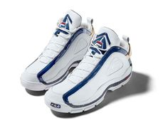 brand new 88cdd 44de6 Fila Honors Grant Hill With Updated Signature Sneaker — Complex