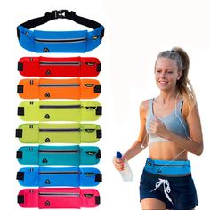 Convenient and Comfortable Canvas Multifunctional Waistbag