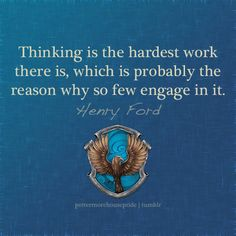 Ravenclaw Pride - Henry Ford