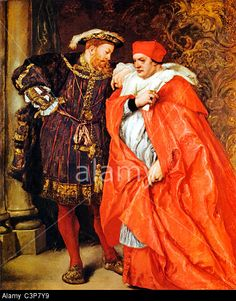 "Henry VIII And Cardinal Wolsey, By Sir John Gilbert-11th Sept., 1527, HENRY VIII. to WOLSEY. Thanks him for his diligent service, ""which service cannot be by a kind master forgotten, of which fault I trust I shall never be accused, especially to you ward, which so laboriously do serve me."" As we have never sent to the Pope since his captivity, and have no one resident there, lest the Queen should anticipate us ""in our great matter,""... http://www.british-history.ac.uk/letters-papers"