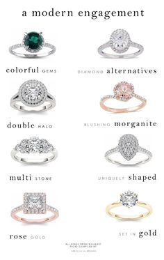 Top engagement ring