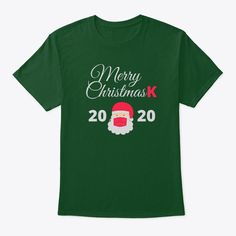 Add some fun to your holiday wardrobe with this funny Merry Christmask 2020 Santa Christmas shirt or give it as the perfect gift! Santa Christmas, Christmas Shirts, Holiday Wardrobe, Cool Tees, Tshirts Online, Some Fun, Tee Shirts, Merry, Gift Ideas