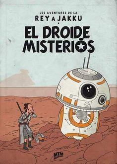 Tintin Star Wars crossover