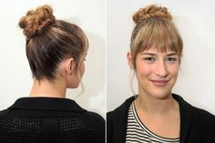 How to do The Braided Bun: Easy Hairstyles ~ Cute Girls Hairstyles