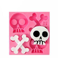 Skulls and Bones Silicone Mold
