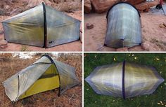 """Terra Nova maintains their reputation with the latest """"lightest double-wall shelter in the world,"""" weighing just over 1 pound. Hiking Tent, Backpacking Tent, Camping Glamping, Camping And Hiking, Camping Gear, Tent Reviews, Tent Design, Ultralight Backpacking, Outdoor Gear"""