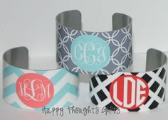 Hey, I found this really awesome Etsy listing at https://www.etsy.com/listing/130835394/monogrammed-cuff-bracelet-monogram-gift