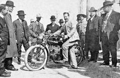 Pancho Villa and a 1914 Indian Motorcycle