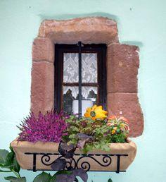 Window, Alsace - France