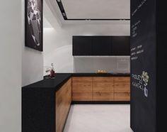 Aranżacje wnętrz - Kuchnia: projekt 11 - Średnia kuchnia w kształcie litery u w aneksie, styl nowoczesny - PASS architekci. Przeglądaj, dodawaj i zapisuj najlepsze zdjęcia, pomysły i inspiracje designerskie. W bazie mamy już prawie milion fotografii!