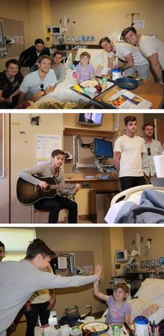 Foster The People performing for sick kids <3