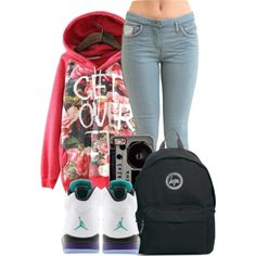 """""""Get Over It"""" by bloobaaa on Polyvore"""