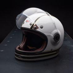 Bell Bullitt Carbon Helmet - RSD Mojo White/Gold