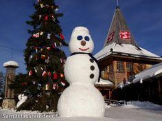 Photos: Santa Claus Reindeer in Rovaniemi in Lapland in Finland