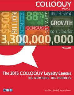 U.S. CUSTOMER LOYALTY PROGRAM MEMBERSHIPS TOP 3 BILLION FOR FIRST TIME