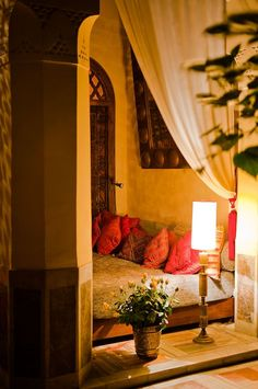 Romantic hide away.│lamb & blonde: Magical Marrakech