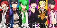 Osomatsu-san- Osomatsu, Karamatsu, Choromatsu, Ichimatsu, Jyushimatsu, and Todomatsu #Anime「♡」Fujio Rock Festival