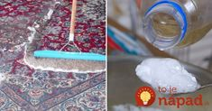 Toto si pri jarnom upratovaní nenechajte ujsť. Finty na super-čisté koberce vo vašej domácnosti a to bez akýchkoľvek špeciálnych nástrojov a pomôcok. Všetko, čo potrebujete, určite nájdete aj vo svojej domácnosti.