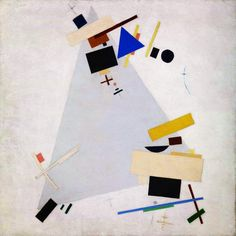 Russian geometric abstract painter Kazimir Malevich was born in He was very religious and desired to represent the world beyond natural forms. 'Dynamic Suprematism (Supremus)' by Kazimir Malevich Tate Abstract Oil, Abstract Shapes, Abstract Paintings, Oil Paintings, Kazimir Malevich, Art Terms, Tate Gallery, Action Painting, Canvas Art