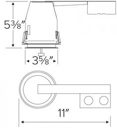 For use in non-insulated ceilings, where insulation must be kept from all sides of fixture. Lamp: MAX Lamp Holder: Twist-and-lock lampholder. Closet Lighting, Line Art, Miniatures, Mockup, Minis