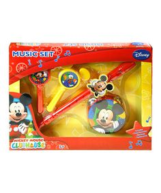 Take a look at this Mickey Mouse Clubhouse Musical Instrument Set by Disney on #zulily today!