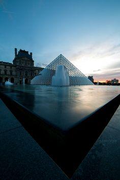 On clichedunjour.com Perspective #Louvre #Paris