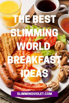 The ultimate list of the very best Slimming World breakfast ideas! astuce recette minceur girl world world recipes world snacks Slimming World Lunch Ideas, Slimming World Diet Plan, Slimming World Recipes Syn Free, Slimming World Syns, Slimming Eats, Slimming World Sausages, Slimming World Breakfast Muffins, Syn Free Breakfast, Breakfast Ideas