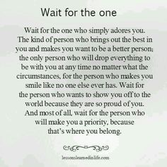 Waiting for them to find me. Not chasing, not looking, they will find me #truth #respect