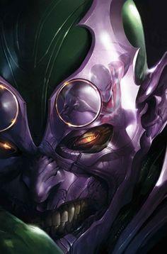 Universo 2099: Duende Verde vs. Homem Aranha.
