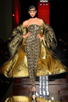 Jean Paul Gaultier Fall 2012: Rococo 17th century, the outmost garment, the modeste.