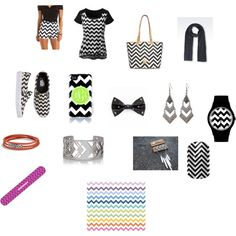 Chevron by eunicehomeworks on Polyvore featuring art