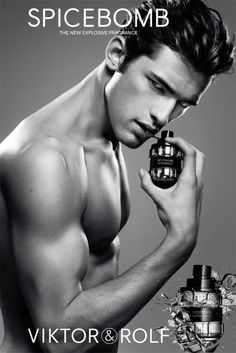 Sean O'Pry by Inez & Vinoodh   Spicebomb. Love Sean love the scent: sweet, deep and sexy.