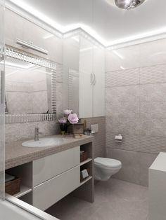 Wc Bathroom, Fitted Bathroom, Bathroom Layout, Small Bathroom, Bathroom Design Luxury, Modern Bathroom Decor, Modern Bathroom Design, Bathroom Furniture, Bathroom Wallpaper Trends