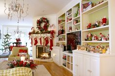 Festive Den - Kim Bostain Christmas Home Tour