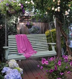 Pin By Marina On Die Hollywoodschaukel | Pinterest Hollywoodschaukel Garten Veranda