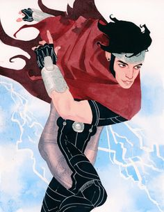 Wiccan Commission // Kevin Wada