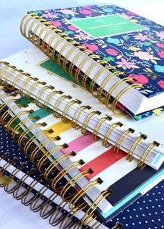 Here are all my Simplified Planners that I have used over the years. I'm sharing how I use my planner every day and stay organized. If you are looking for an every day planner, here's my Simplified Planner review with pictures!