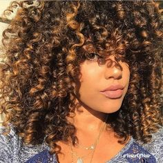 Curl crushing on @hif3licia➰ Gorgeous  #voiceofhair========================== Go to VoiceOfHair.com ========================= Find hairstyles and hair tips! =========================