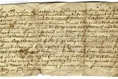 Handwritten spell shows the  bewitching use of folk magic