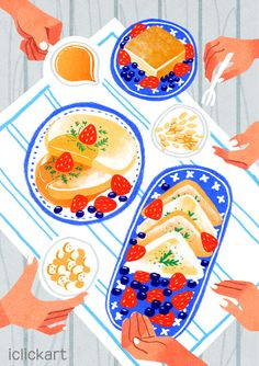 #kinfolk #image #lifestyle #kinfolklife #iclickart #npine  #킨포크테이블 #킨포크 #라이프스타일 #이미지 #일러스트 #아이클릭아트 #엔파인 Cute Illustration, Digital Illustration, Food Drawing, Cool Posters, Illustrations And Posters, Painting For Kids, Aesthetic Art, Cute Drawings, Food Art