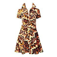 Pucci Velvet Dress   From a collection of rare vintage day dresses at https://www.1stdibs.com/fashion/clothing/day-dresses/