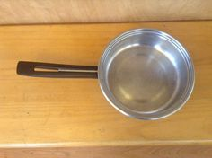 US $39.99 Used in Collectibles, Kitchen & Home, Kitchenware. Vintage tri-ply buckeye 1 qt. saucepan