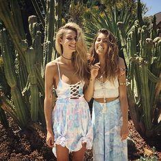 Sahara Ray & Mimi Elashiry in Sabo Skirt
