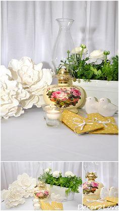 Wedding decoration in vintage style/ Svadobná výzdoba v štýle vintage