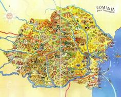 Post with 0 votes and 1326 views. Illustrated Map of Romania (Prior to M-T Pact) x-post from r/Romania I Think Map, Romania Map, Visual Map, Life Map, World History Lessons, Map Globe, Historical Maps, Old Maps, Vintage Maps