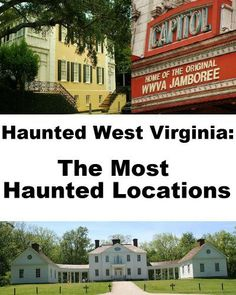 Haunted West Virginia: The Most Haunted Locations by Jeffrey Fisher. $4.99. 31 pages. This guide offers information on the most haunted locations in the state of West Virginia. Each location includes information on its history, and the spirit(s) believed to haunt the property.                            Show more                               Show less