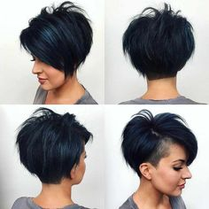 Latest Short Bob And Pixie Haircuts For Women 2019 - Latest Short Bob And Pixie Haircuts For Women 2019 - . Latest Short Bob And Pixie Haircuts For Women 2019 - . Latest Short Haircuts, Short Pixie Haircuts, Short Hairstyles For Women, Pixie Haircut Styles, Pixie Bob Haircut, Pixie Bob Hairstyles, Hairstyles Haircuts, Short Undercut Hairstyles, Short Hair With Undercut