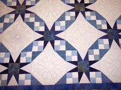 A Tennessee Waltz quilt: love the heart and feathers for my grandgirls