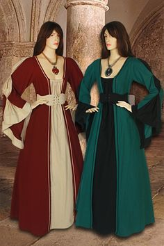 Women's Medieval Dress No. 104 - 139.50USD - Medieval and Renaissance Clothing, Handmade by Your Dressmaker